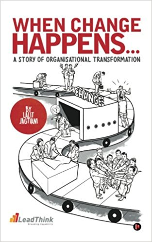 """""""When Change Happens""""- Book Cover"""
